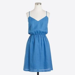 J. Crew Linen Cami Dress